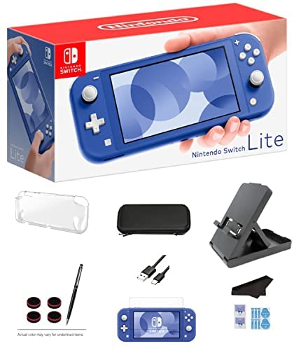 Read more about the article Nintendo Switch Lite – Blue Game Console with Extra External 64…