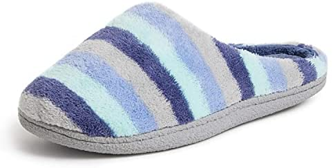 Read more about the article Dearfoams Women's Leslie Quilted Terry Clog Slipper