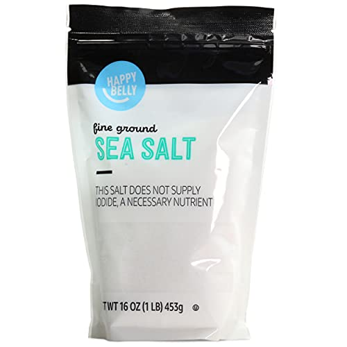 Read more about the article Amazon Brand – Happy Belly Sea Salt, Fine Ground, 16 Ounces