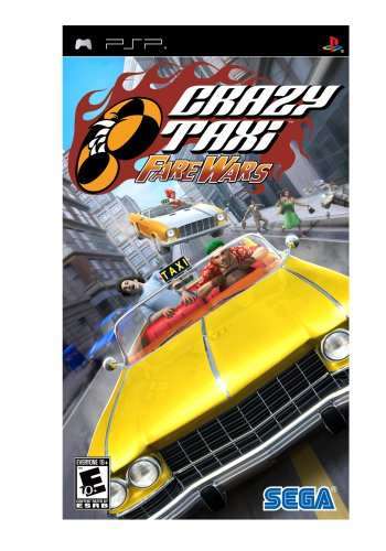 Read more about the article Crazy Taxi: Fare Wars – Sony PSP