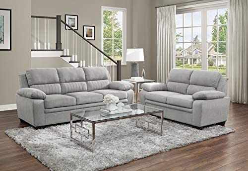 Read more about the article Lexicon Vega 2-Piece Living Room Set, Light Gray