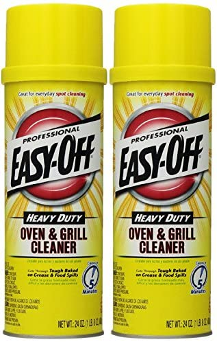 Read more about the article Easy Off Professional Oven & Grill Cleaner Aerosol, 24 oz, Pack of 2