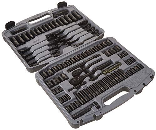 Read more about the article STANLEY Drive Socket Set, Black Chrome, Laser Etched, 99-Piece (92-839)