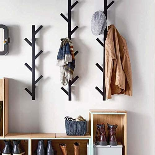 Read more about the article PREMIUM RACKS Coat Rack & Hat Rack – Modern Design – Wall Mounted – Stylish – (Black)
