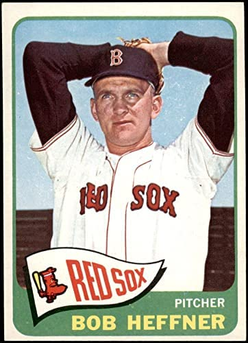 Read more about the article 1965 Topps # 199 Bob Heffner Boston Red Sox (Baseball Card) NM Red Sox
