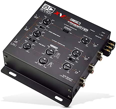 Read more about the article 3-Way Electronic Car Crossover – Two or Three-Way System Set-Ups with Rear Fader Control, Subwoofer Equalizer, 2/4/6 Channel Inputs, 5V RCA Outputs, Front/Rear/Subwoofer Level Control – BANDA XVR360