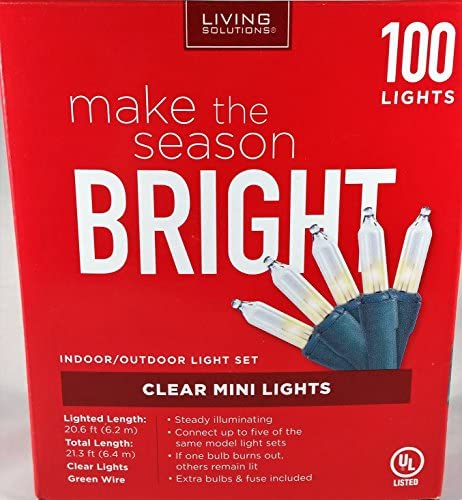 Read more about the article Holiday Indoor/Outdoor Light Set 100 Clear