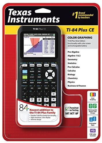 Read more about the article Texas Instruments TI-84 Plus CE Graphing Calculator, Black